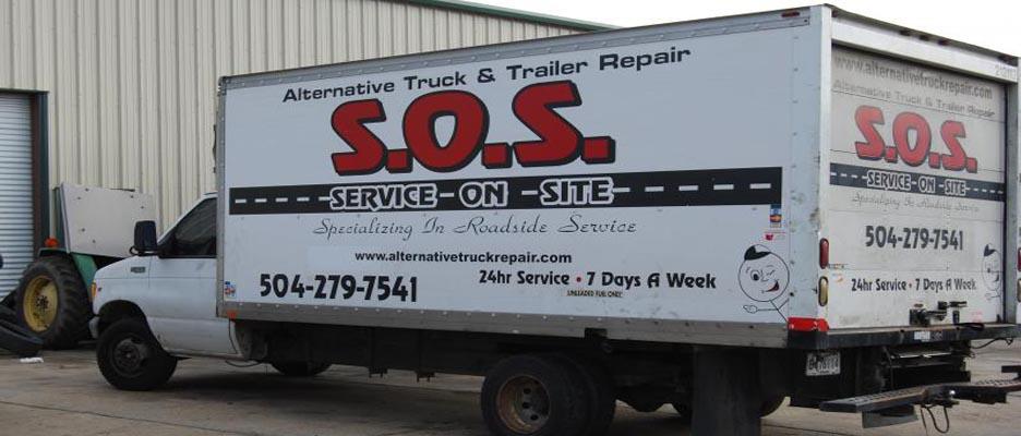 SOS Truck Repair — Truck Repair On Site